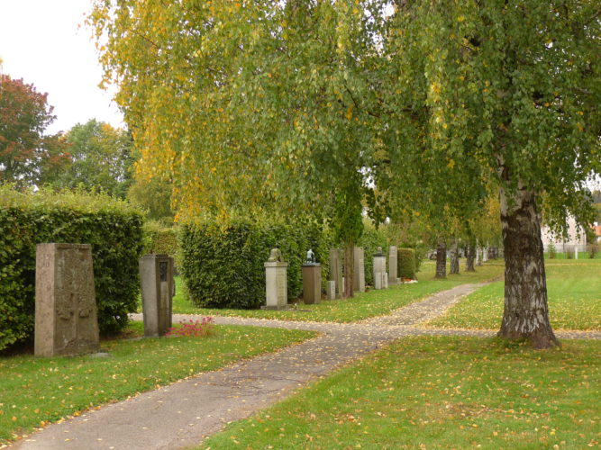 Turning point of the cemetery planning in Norway