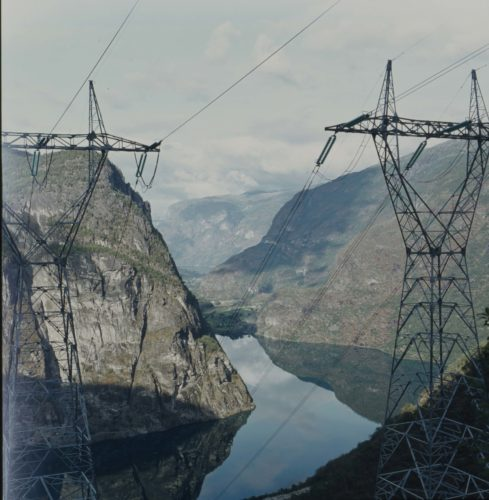 Landscape Architects in building hydroelectric power stations in Norway
