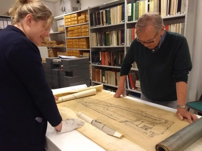 Increasing academic interests to the Historical Archive of Norwegian Landscape Architecture