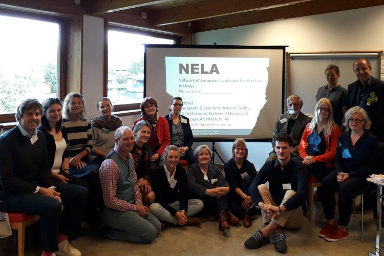 European Network of Landscape Architecture Archives NELA