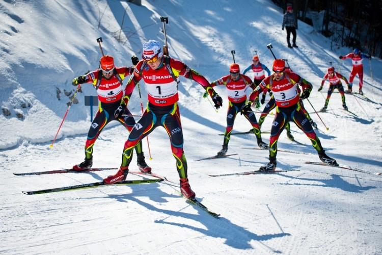 Spretthaler på snøen – et VM i miniatyr