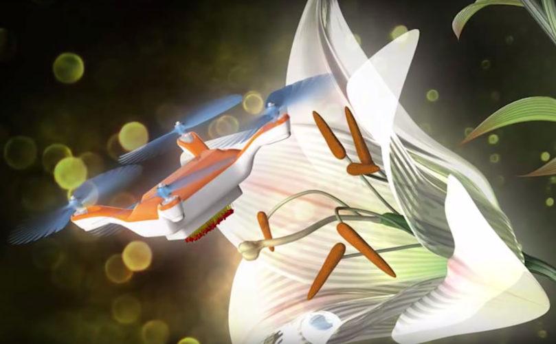 Kan robotbier redde pollineringen?