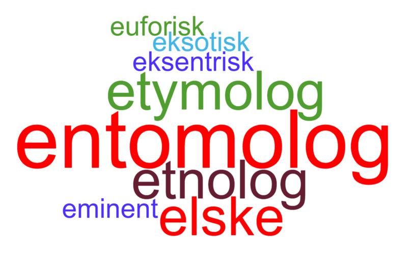 E-ore for insektlære