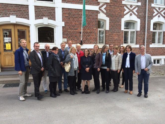 CERAD site visit fra Forskningsrådet.