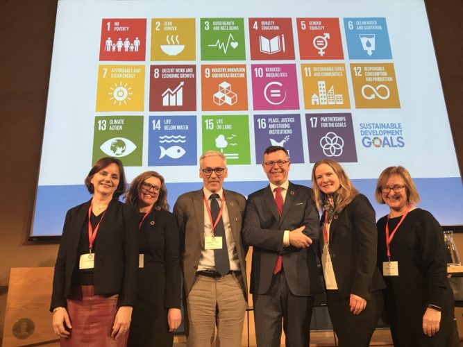 Universities commit to the Sustainable Development Goals