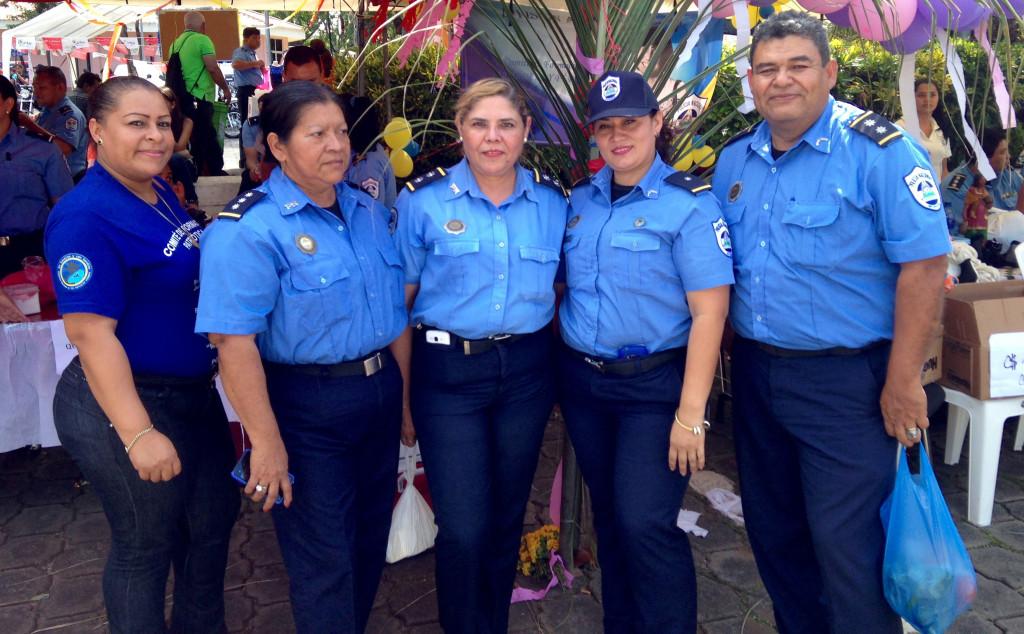 Nicaraguan police.