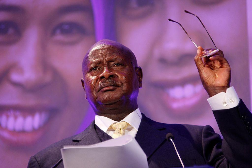 President Yuweri Museveni of Uganda. Photo: Russell Watkins/Department for International Development/Wikimedia Commons