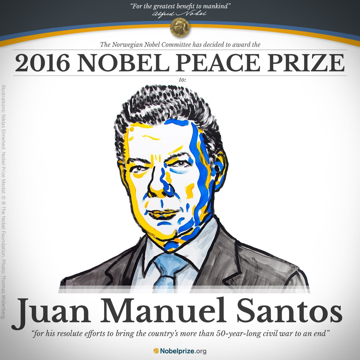 Nobel Announcement. Source: Nobel Peace Centre