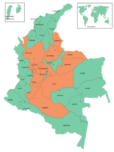 Source: Registraduría Nacional de Colombia (Map)